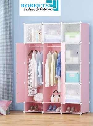 pink plastic wardrobe image 1