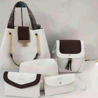 5in 1 Leather Handbags image 2