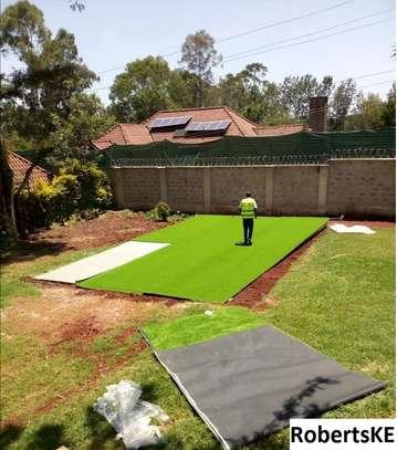 Outdoor artificial grass carpet image 1