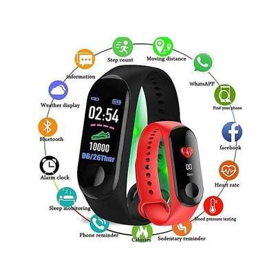 M3 Smart Band Watch Bracelet Tracker HeartRate image 2
