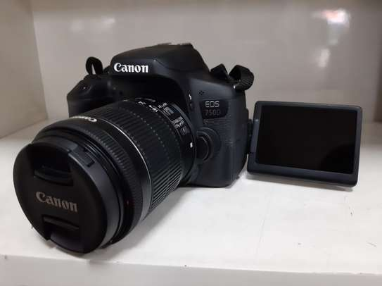 CANON 750D (18-55MM) + bag + 16gb card