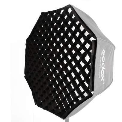 Godox 80cm Grid Umbrella Type Speedlight octagon softbox image 1