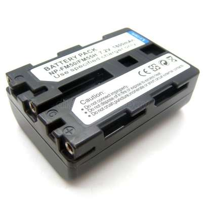 Sony Genuine - Battery Pack - NP-FM50 image 6