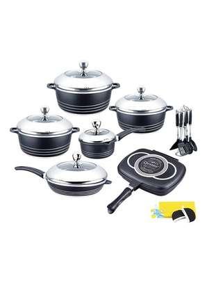 23 Piece Dessini Non-Stick Cookware Set image 1