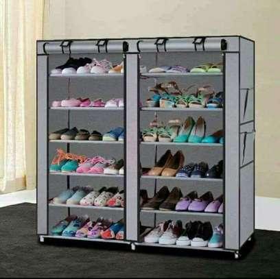 Portable Shoe Rack - 36 pairs image 1