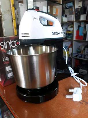 Sinbo Electric Hand Mixer With Bowl image 1