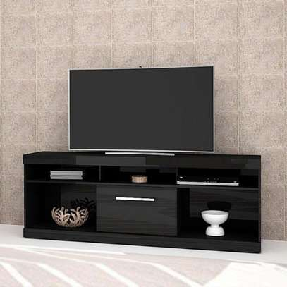 Onyx Black Glossy TV Stand image 4