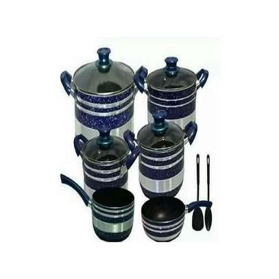 Yi Tong Non Stick Cooking Sufuria Set - Blue image 1