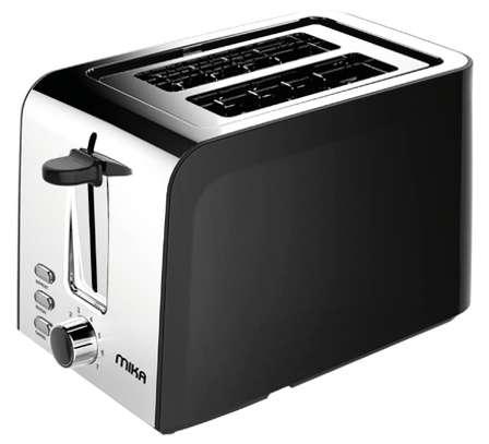 MIKA Toaster, 2 Slice, 730W - 850W, Black image 1