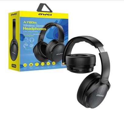 AWEI A780BL Wireless Headphone Bluetooth 5.0 Earphone With Microphone Deep Bass Gaming Headset Support TF Card image 2