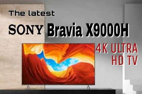 """SONY 65"""" model X9000h smart 4k UHD HDR frameless tv image 1"""