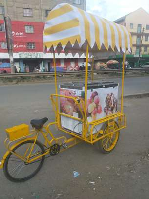 ICE CREAM BICYCLE WITH