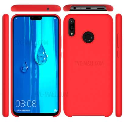 Silicone Cover High Quality  with Soft-Touch Back Protective Case for Huawei Y9 2019/Y9 Prime 2019 image 3