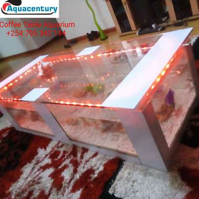 mega coffee table aquarium image 1