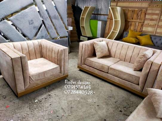 Complete set of sofas/three seater sofa plus two seater sofas plus one seater sofa/sofa bed image 3