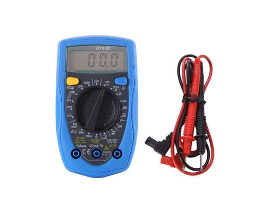 Dt33D Handheld Digital Multimeter Backlight Square Wave Output Digital Meter Multimeter image 1