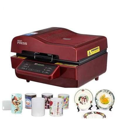 3d vacuum sublimation heat press transfer machine for keychains phone case st-3042 image 1