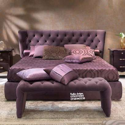 Latest bed designs for sale in Nairobi Kenya/modern beds image 1