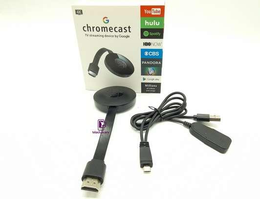 Google Chromecast 4K Smart TV Streaming Stick image 1