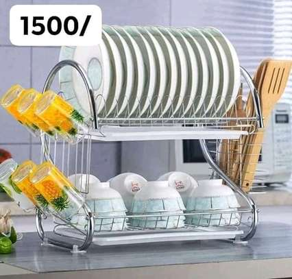 two tier dish drainer image 2