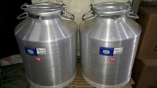 50litre milkcan/50litre milk jerrycan/50litre alminium milkcan/milk storage container image 2