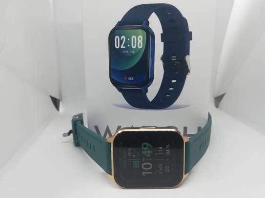 2021 Green Q18 Reloj Inteligente Smart Watch Ip68 Waterproof Fitness Tracker image 5