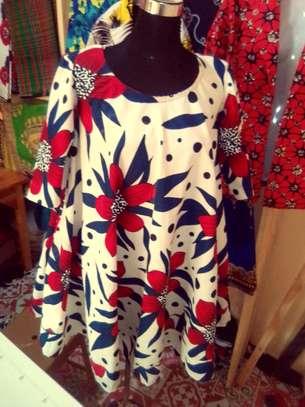 Kitenge dress with pockets image 1