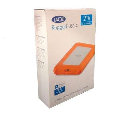 LaCie 2TB Rugged USB 3.1 Gen 1 Type-C External Hard Drive image 2