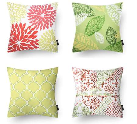 Decorative Unique Throw Pillow Case Cushion Covers a set of 4 pieces at Ksh. 3200 image 3