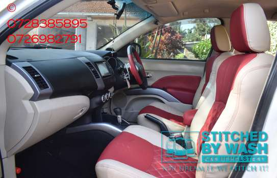 Interior car upholstery image 4