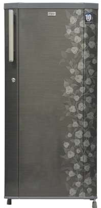 Mika Refrigerator, 190L, Direct Cool, Single Door, Grey Iris image 1