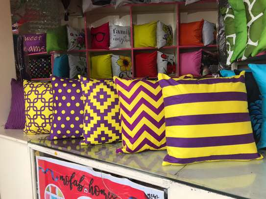 Egyptian Throw Away Pillow Covers image 7
