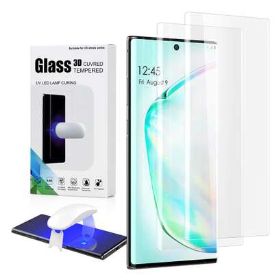 UV Full Adhesive Tempered Glass film for Samsung Galaxy Note 10/Note 10 Plus Screen Protector image 2