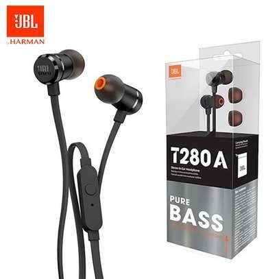 JBL HARMAN T280A + stereo in ear headphones image 1
