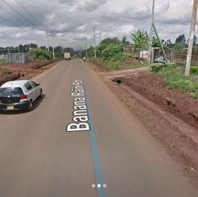 Plot for sale in kiambu banana;Jumbo court image 2
