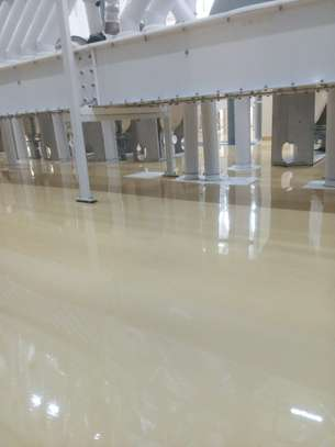 Fossilcote Floor installation for Ajabu Flour Mill Co. image 10