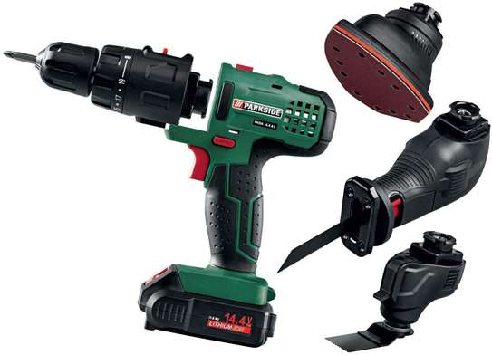 PARKSIDE 4-IN-1 CORDLESS COMBINATION TOOL (PKGA-20LI-A1) image 1