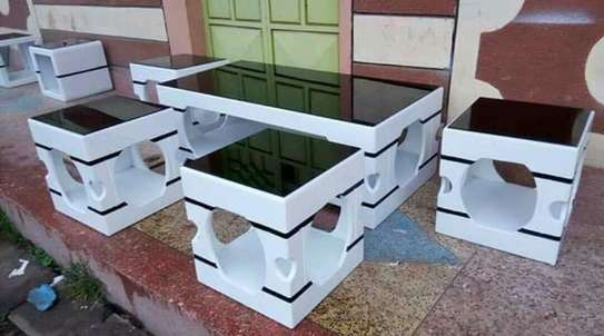 Coffee tables with stools
