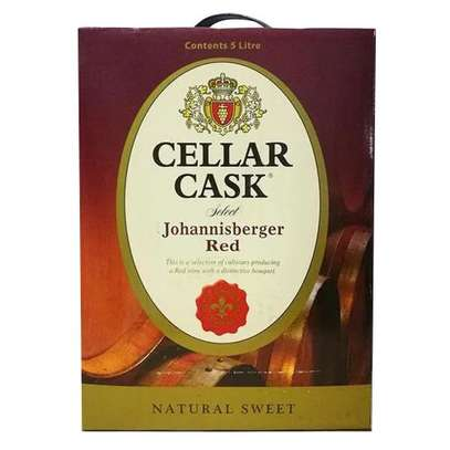 Cellar Cask Johannisberger Natural Red Wine - 5L image 1