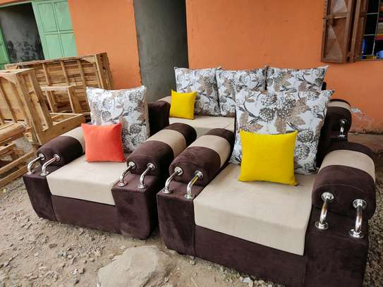 Chrome sofa image 1