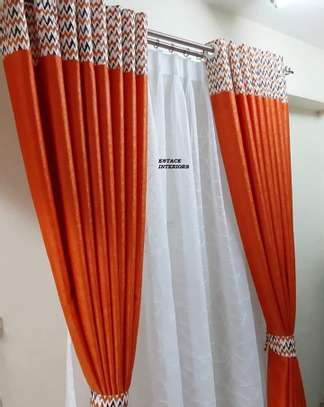 Brand new curtains and sheers image 1