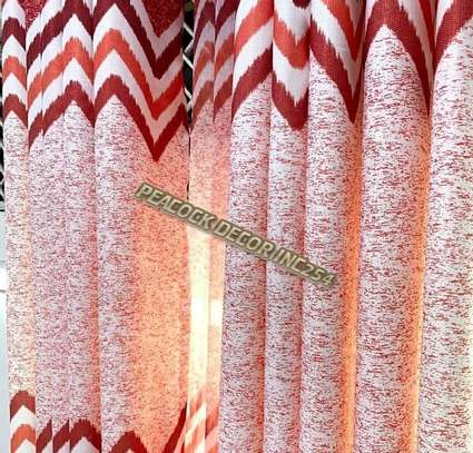 Elegant printed curtains and sheers image 10