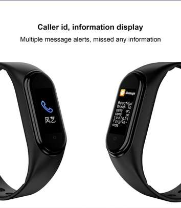 Smart Fitness Watch Bracelet M4 Tracker Band Activity Heart Rate Monitor image 7