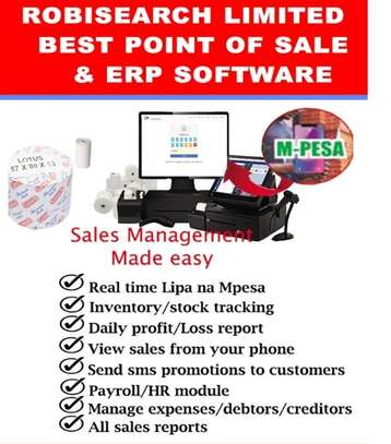 ROBIPOS Point Of Sale System + Free  Installations