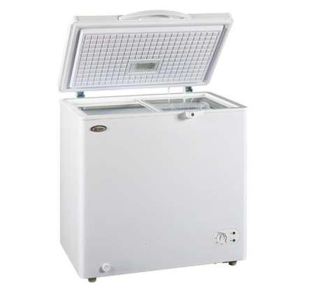 MIKA Deep Freezer, 150L, White image 1