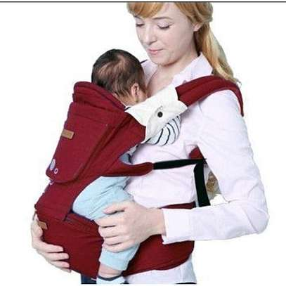 Hipseat Baby Carrier - Red