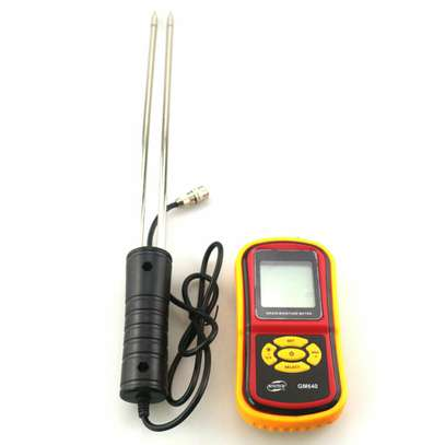 Digital Grain Moisture Meter Wheat Rice Humidity Tester Damp Detector image 6