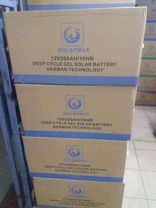 Solarmax solar battery 200AH 12V image 1