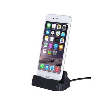 Dock sync charger for iPhone 8, X,7/7P 6 6S Plus 5 5S -Black