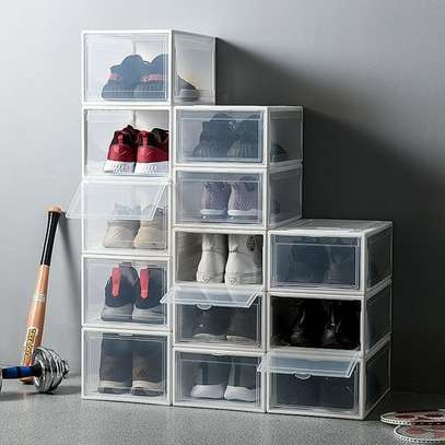 Shoes Storage Boxes Shelf Home Organizer - 13 Boxes image 1